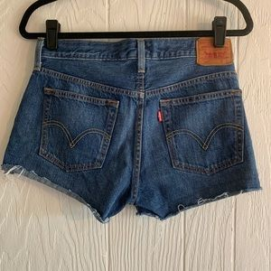 Levi's 501 Cutoff Jeans Shorts
